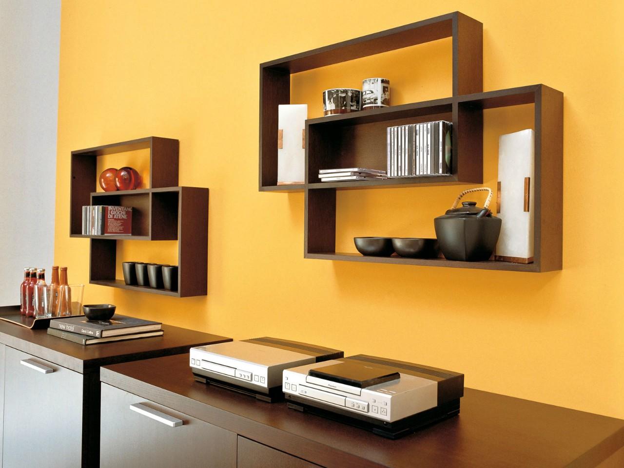 Furniture: impressive home interior design with black wall s.